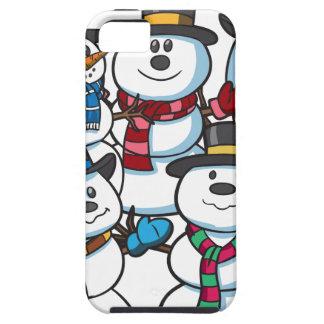 Christmas Snowmen iPhone 5 Case