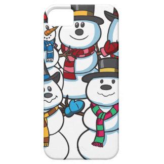 Christmas Snowmen iPhone 5 Covers
