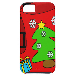 Christmas sock 2 case for the iPhone 5