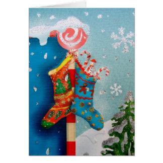 Christmas Socks Card