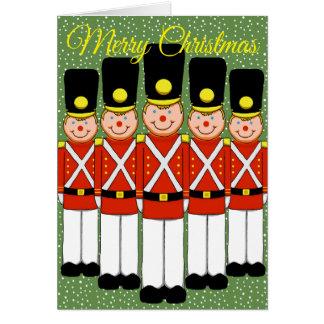 Christmas Soldier Christmas Greeting Card
