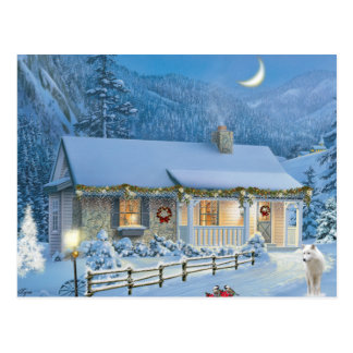 Christmas Solitude Postcard