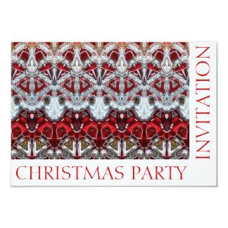 Christmas Sparkle Party Invitation Card