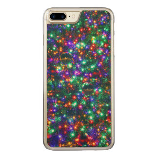Christmas Sparkling Stars Carved iPhone 8 Plus/7 Plus Case
