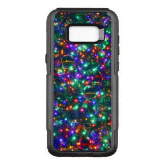 Christmas Sparkling Stars OtterBox Commuter Samsung Galaxy S8+ Case