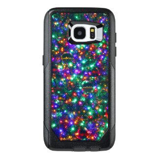 Christmas Sparkling Stars OtterBox Samsung Galaxy S7 Edge Case