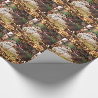 Christmas Sparrow Wrapping Paper