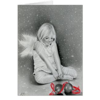 Christmas Spirit Angel Elf Card