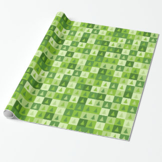 Christmas squares Wrapping Paper
