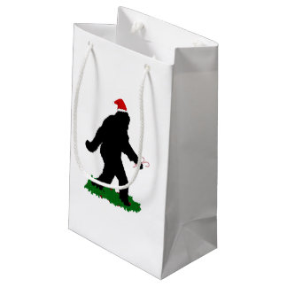 Christmas Squatchin' Small Gift Bag