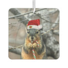 Christmas Squirrel Air Freshener