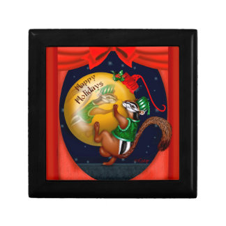 CHRISTMAS SQUIRREL GIFT BOX 3
