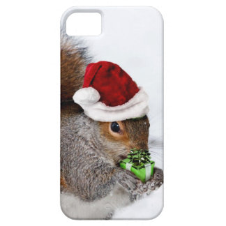Christmas Squirrel iPhone 5 Covers