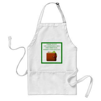 christmas standard apron
