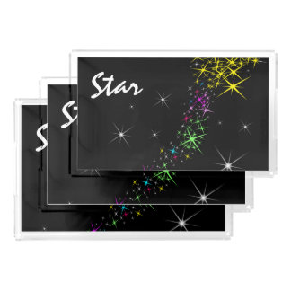 Christmas Star Acrylic Tray