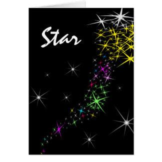 Christmas Star Card