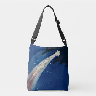 Christmas Star crossover bag