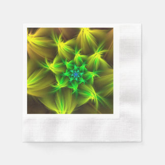 Christmas star disposable napkins