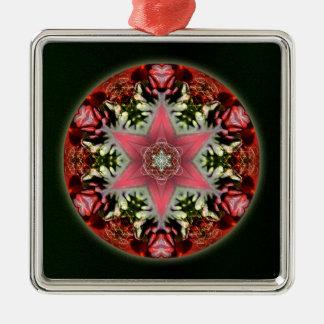 Christmas Star Metal Ornament