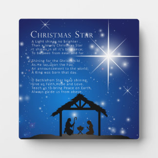 Christmas Star Plaque