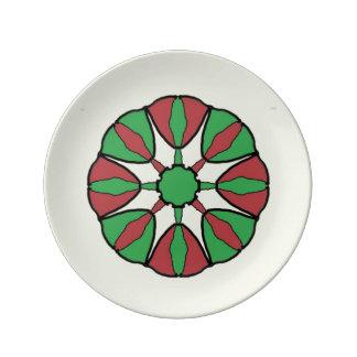 Christmas Star Plate