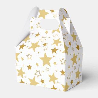 Christmas stars cookies box