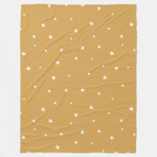 Christmas Stars pattern - Xmas Fleece Blanket