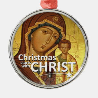 Christmas Stars With Christ Ornament