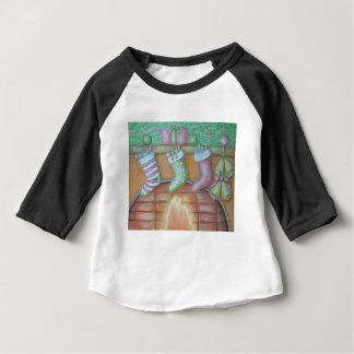 Christmas stocking baby T-Shirt