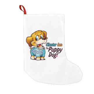 Christmas Stocking From Chester Leo: The Puppy Dog Small Christmas Stocking