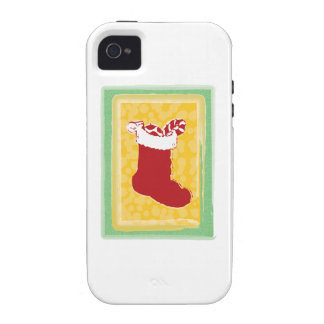 Christmas Stocking iPhone 4 Cover