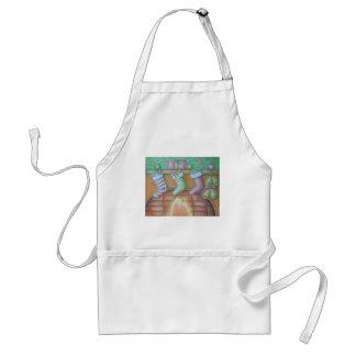 Christmas stocking standard apron