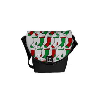 Christmas Stockings Socks Messenger Bags