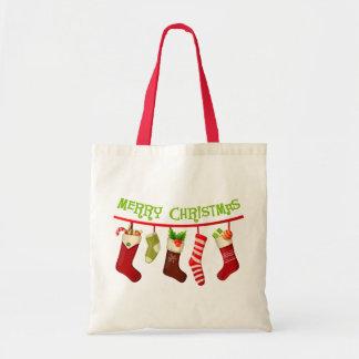 Christmas Stockings Tote Bag