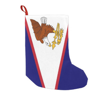Christmas Stockings with Flag of American Samoa