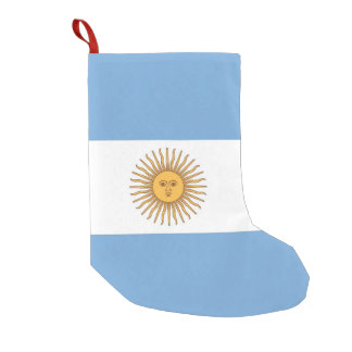 Christmas Stockings with Flag of Argentina