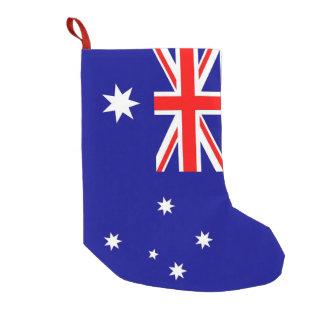 Christmas Stockings with Flag of Australia