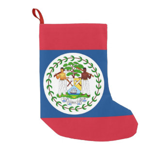 Christmas Stockings with Flag of Belize