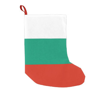 Christmas Stockings with Flag of Bulgaria