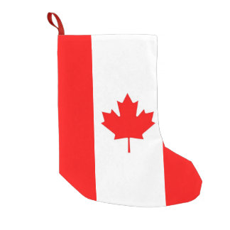 Christmas Stockings with Flag of Canada