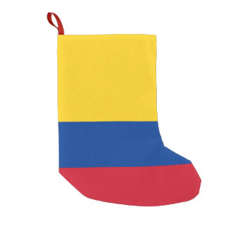 Christmas Stockings with Flag of Colombia