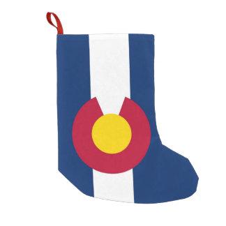 Christmas Stockings with Flag of Colorado, USA