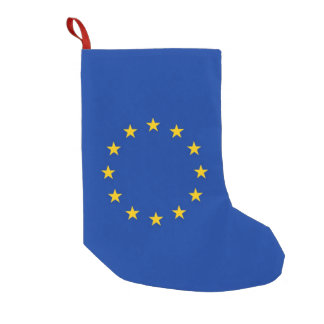 Christmas Stockings with Flag of Europe