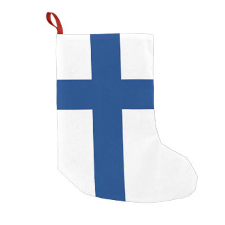 Christmas Stockings with Flag of Finland