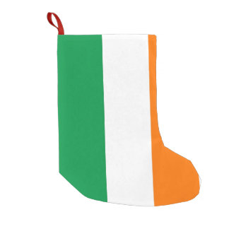 Christmas Stockings with Flag of Ireland
