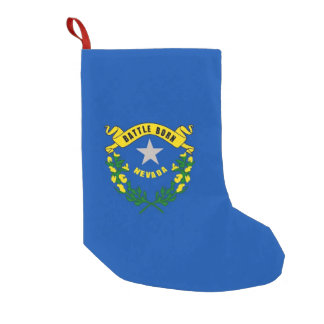 Christmas Stockings with Flag of Nevada
