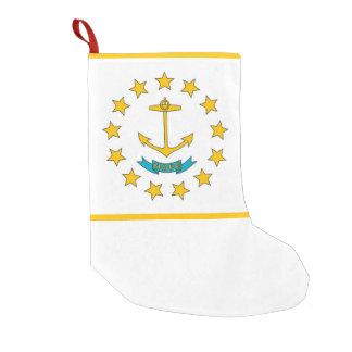 Christmas Stockings with Flag of Rhode Island