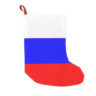 Christmas Stockings with Flag of Russia