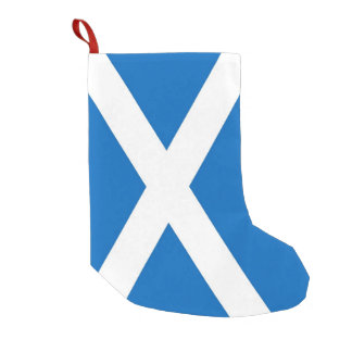 Christmas Stockings with Flag of Scotland