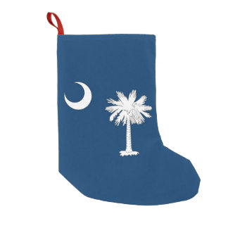 Christmas Stockings with Flag of South Carolina